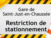 Restriction de stationnement à la gare